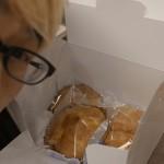 地元、小松市今江町の和菓子・新保屋。ここのシュークリームが絶品なんだわ。