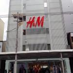 行って来ました!京都H&M。地下1階から地上6階まで全部H&M。