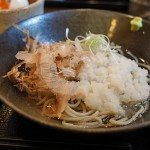 地元、小松市で本格のお蕎麦はいかが。十割蕎麦の松晶(まつしょう)。