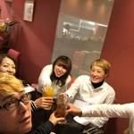 金沢パリミラで忘年会。おいしい料理と楽しい仲間がいればもう十分幸せ!