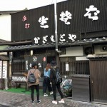 中軽井沢、そばの「かぎもとや」。年季の入った手打ちそばがうまい!