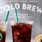 「コールドブリュー コーヒー」、スターバックスから夏限定アイスコーヒーが登場!